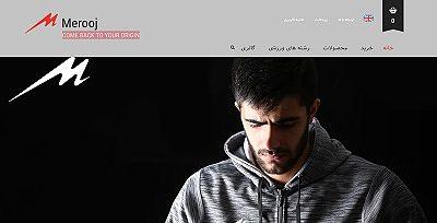 نمایش نمونه وبسایت