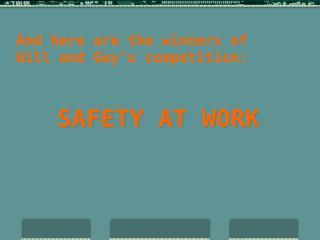 safetyatwork.ppt
