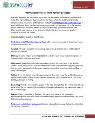 Promising North east India holiday packages.pdf