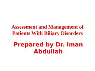11Biliary Disordes.ppt
