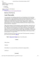 Disorders of the Pancreas - Gastroenterology and Hepatology - MKSAP 17.pdf