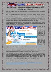 UK Best Tutor Help with Management Assignments That Can be Very Effective.pdf