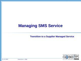 Supplier Managed Service KPIs.ppt