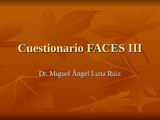 Cuestionario FACES III.ppt
