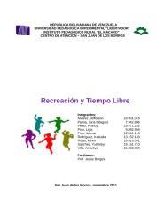 Recreacion y tiempo libre.docx
