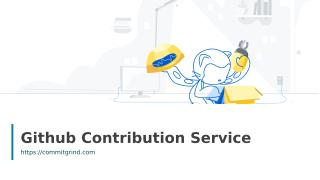 Github Contribution Service.ppt