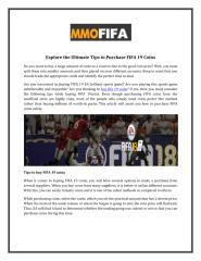 Explore_the_Ultimate_Tips_to_Purchase_FIFA_19_Coins.PDF