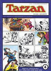 Tarzán-Paginas Dominicales De Burne Hogarth Nº6(Grandes Clasicos De Los Comics Del Pasado).cbr