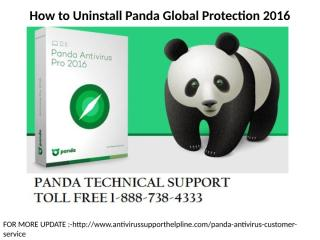 How to Uninstall Panda Global Protection 2012.pptx
