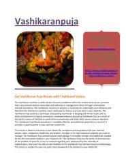 Get Vashikaran Puja Rituals with Traditional Values.pdf