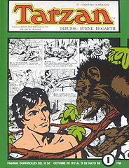 Tarzán-Paginas Dominicales De Burne Hogarth Nº1(Grandes Clasicos De Los Comics Del Pasado).cbr